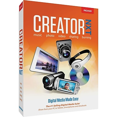Roxio CREATOR NXT for Windows (1-User) [Boxed]