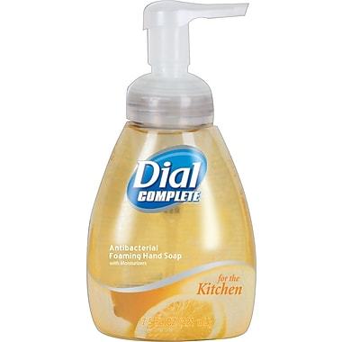 Dial® Complete™ Foaming Hand Wash, Kitchen Pump, 7.5 oz.
