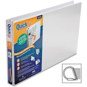 1 Stride® QuickFit® View Locking D-Ring Binder