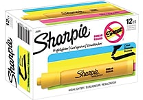 Sharpie® Accent® Highlighters, Yellow, Dozen