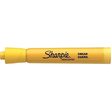 Sharpie® Accent Highlighters, Yellow, Dozen