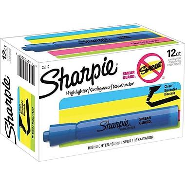 Sharpie® Accent® Highlighters, Blue, Dozen