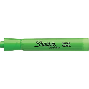 Sharpie® Accent® Highlighters, Fluorescent  Green, Dozen