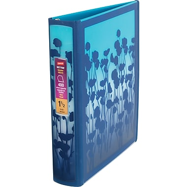 1.5in. Staples® Better® Non View Binder with D-Rings, Blue Gradient