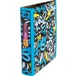 1.5in. Staples® Better® Non View Binder with D-Rings, Blue Grafitti