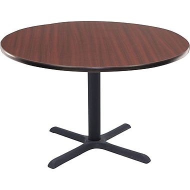 Regency 42in. Round Hospitality Table, Mahogany