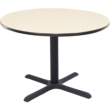 Regency 42in. Round Hospitality Table, Maple
