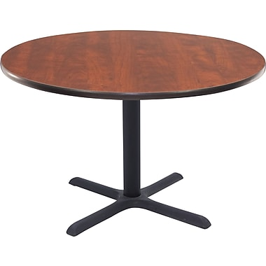 Regency 42in. Round Hospitality Table, Cherry