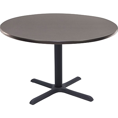 Regency 42in. Round Hospitality Table, Grey