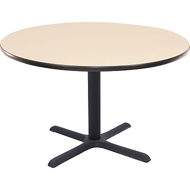 Regency 42in. Round Hospitality Table, Beige