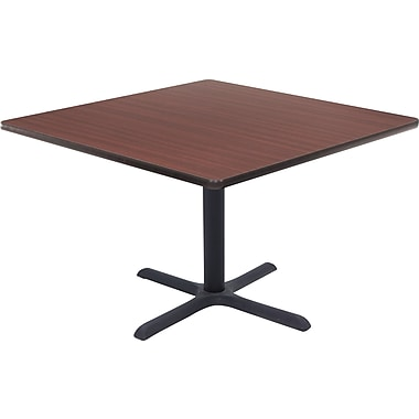 Regency 42in. Square Hospitality Table, Mahogany