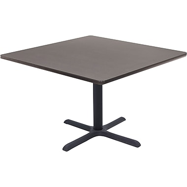 Regency 42in. Square Hospitality Table, Grey