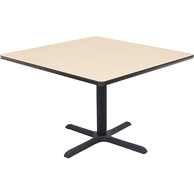 Regency 42in. Square Hospitality Table, Beige