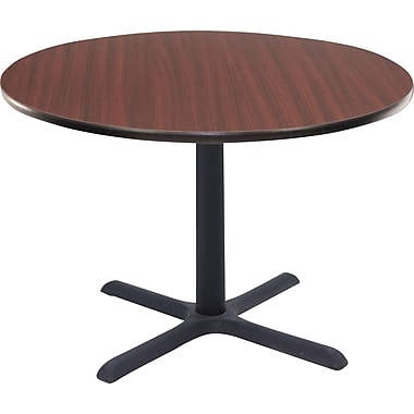 Regency 36in. Round Hospitality Table, Mahogany