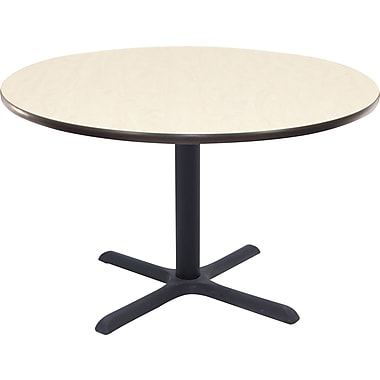 Regency 36in. Round Hospitality Table, Maple