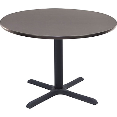 Regency 36in. Round Hospitality Table, Grey