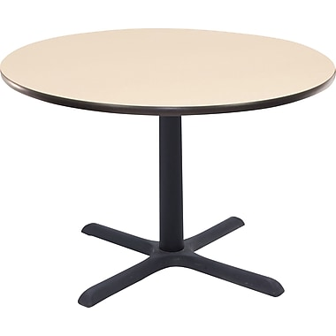 Regency 36in. Round Hospitality Table, Beige