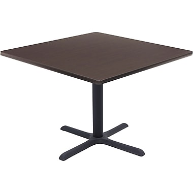 Regency 36in. Square Hospitality Table, Mocha Walnut