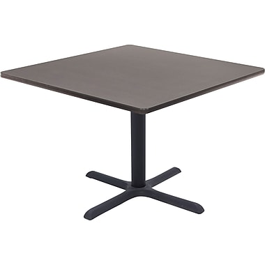 Regency 36in. Square Hospitality Table, Grey
