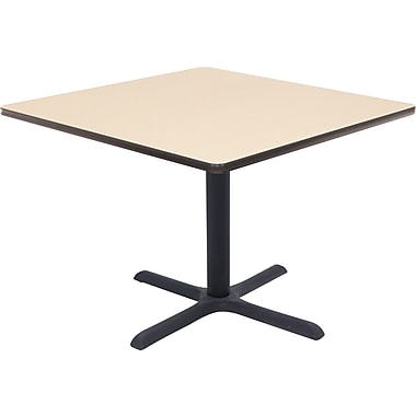Regency 36in. Square Hospitality Table, Beige