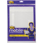 Post-it® Mobile and Go Pocket, Medium, Clear, Each