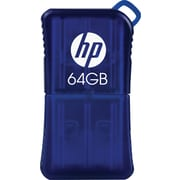 HP 64GB USB 2.0 USB Flash Drive (Blue)