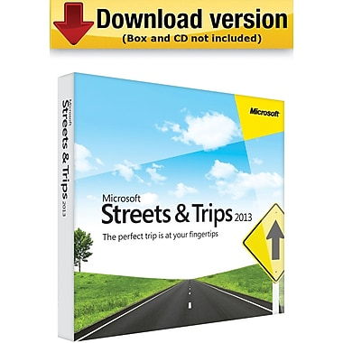 Microsoft® Streets & Trips 2013 (1-User) [Download]
