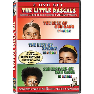 Little Rascals Three-Disc Collection