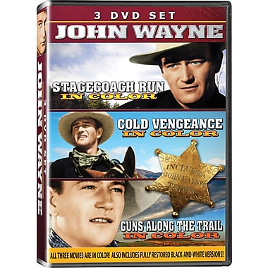 John Wayne Three-Disc Collection, Vol. #2