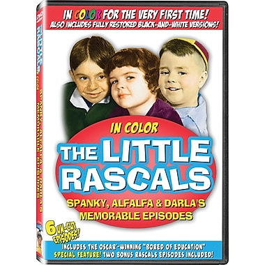 Little Rascals: Spanky, Alfalfa and Darla's Memorable Episodes