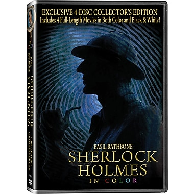 Sherlock Holmes Four-Disc Collection