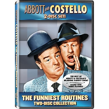 Abbott & Costello's Funniest Routines Double Feature