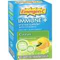 Emergen-C Immune+ Formula, 0.3 oz, Citrus, 10/Pack