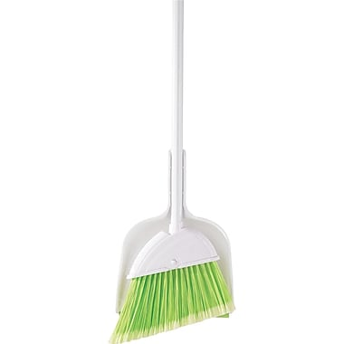 Mr. Clean Angle Broom with Clip On Dust Pan
