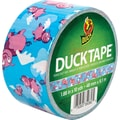 Duck Tape Brand Duct Tape, Flying Pigs, 1.88in.x 10 Yards