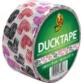Duck Tape Brand Duct Tape, Wild Hearts, 1.88in.x 10 Yards
