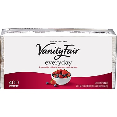 Vanity Fair® Everyday Napkins, 400/Pack