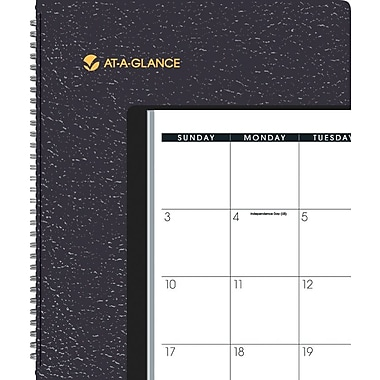 2013/2014 AT-A-GLANCE® Academic Monthly Planner, 9in. x 11in.
