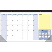 2014/2015 AT-A-GLANCE® QuickNotes® Academic Compact Monthly Desk Pad, 17 3/4 x 10 7/8
