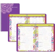2014/2015 AT-A-GLANCE® Good Vibrations Weekly/Monthly Appointment Book, 4 7/8 x 8