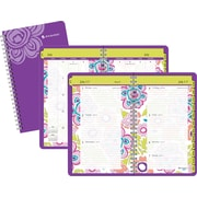 2014/2015 AT-A-GLANCE® Academic Good Vibrations Weekly/Monthly Planner, 3 5/8 x 6 1/8