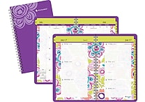 2014/2015 AT-A-GLANCE® Academic Good Vibrations Weekly/Monthly Planner, 3 5/8' x 6 1/8'