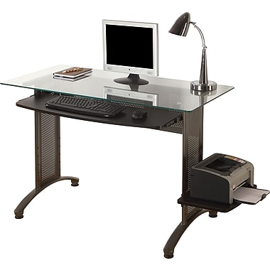 Ergocraft Titan Glass Top Computer Desk