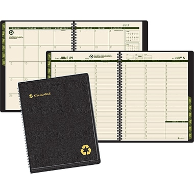 "2013/2014 AT-A-GLANCE® Academic Large Weekly/Monthly Appointment Book, 8 1/4"" x 10 7/8"""