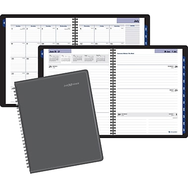 2014/2015 DayMinder® Academic Weekly/Monthly Planner, 9-1/4in. X 11-1/8in.