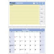 2014/2015 AT-A-GLANCE® QuickNotes® Academic Monthly Desk/Wall Calendar, 11 x 8