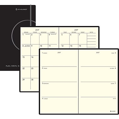 2013/2014 AT-A-GLANCE® Perfect Bound Weekly/Monthly Planner, 5in. x 8 1/4in.