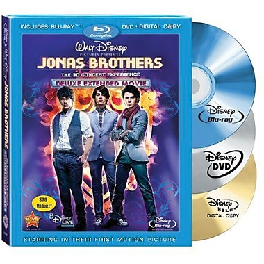Jonas Brothers: The Concert Experience (Blu-Ray + DVD + Digital Copy)