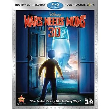 Mars Needs Moms 3D (Blu-Ray + DVD + Digital Copy)