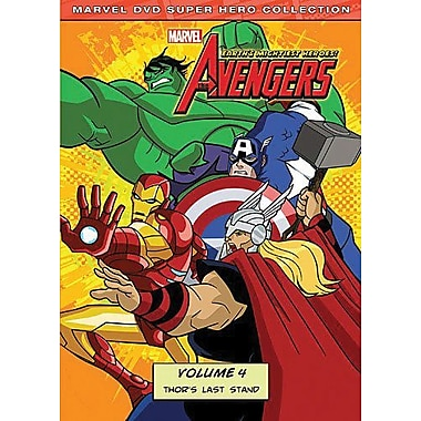 Marvel The Avengers: Earth's Mightiest Heroes! Volume 4
